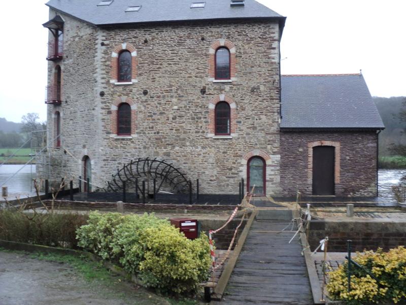 Le moulin de la Bouëxière.